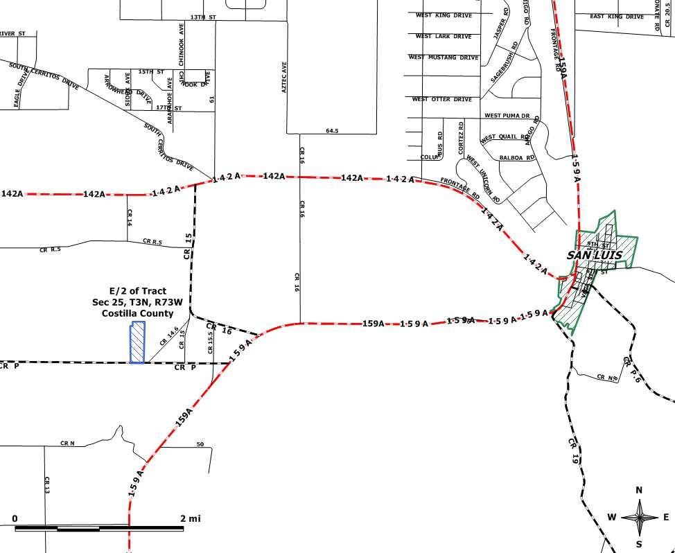 Costilla County Plat Maps